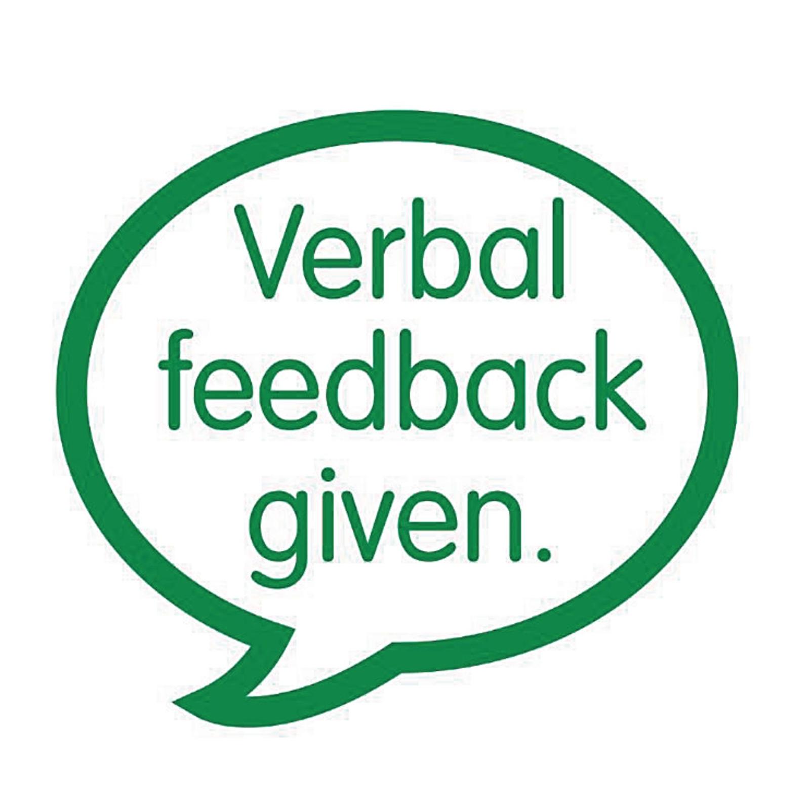Xclamations- Verbal Feedback Given