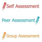 Xstamper 3 in 1 Stamper - Self, Peer and Group Assessment
