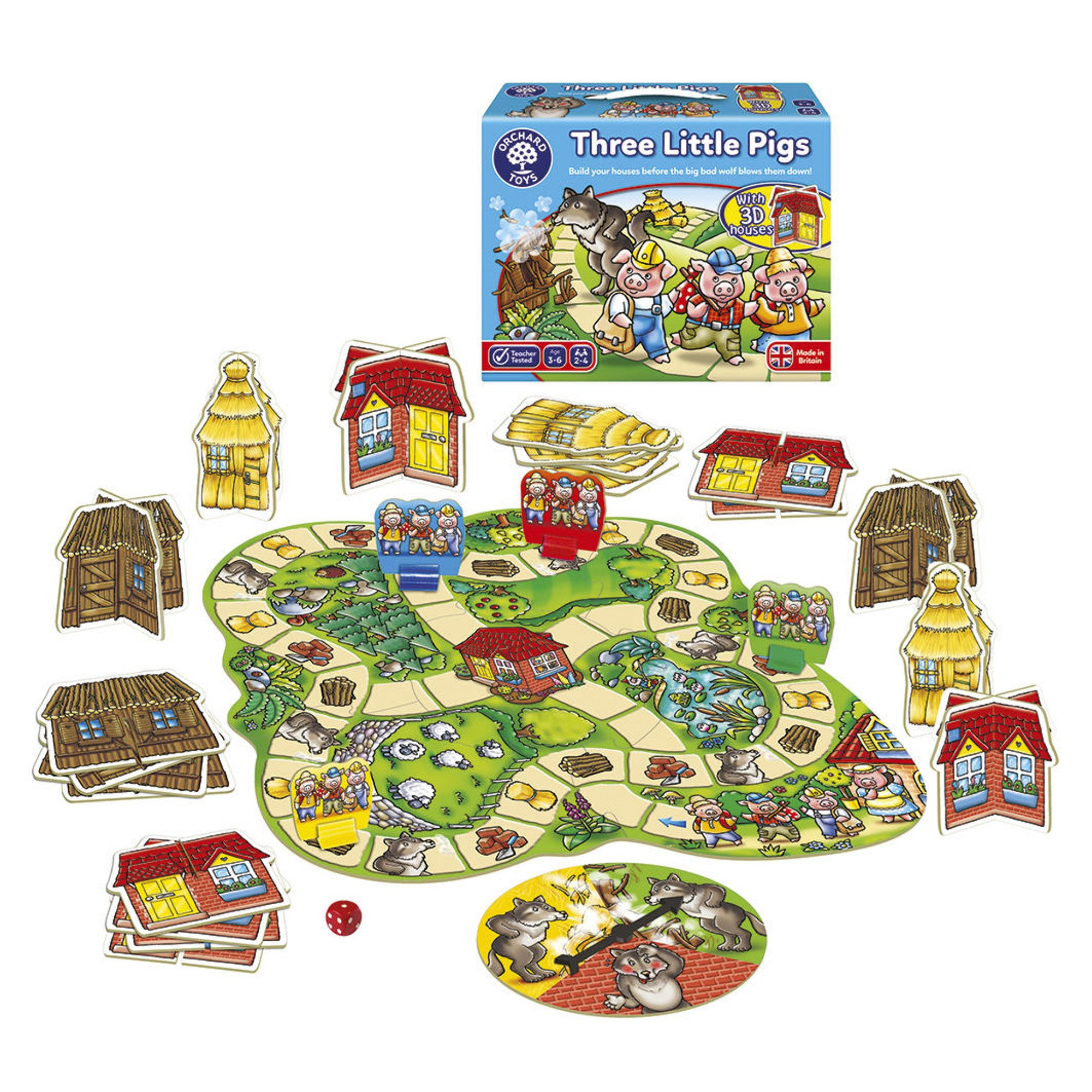 Animal Games Pack Three Little Pigs