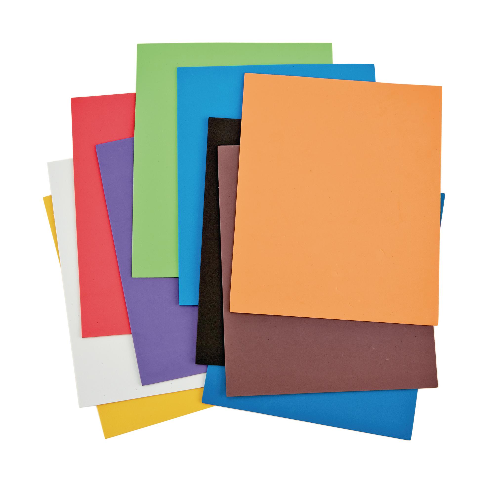 Neoprene craft foam sheets pack of 10 findel international for Soft foam sheets craft