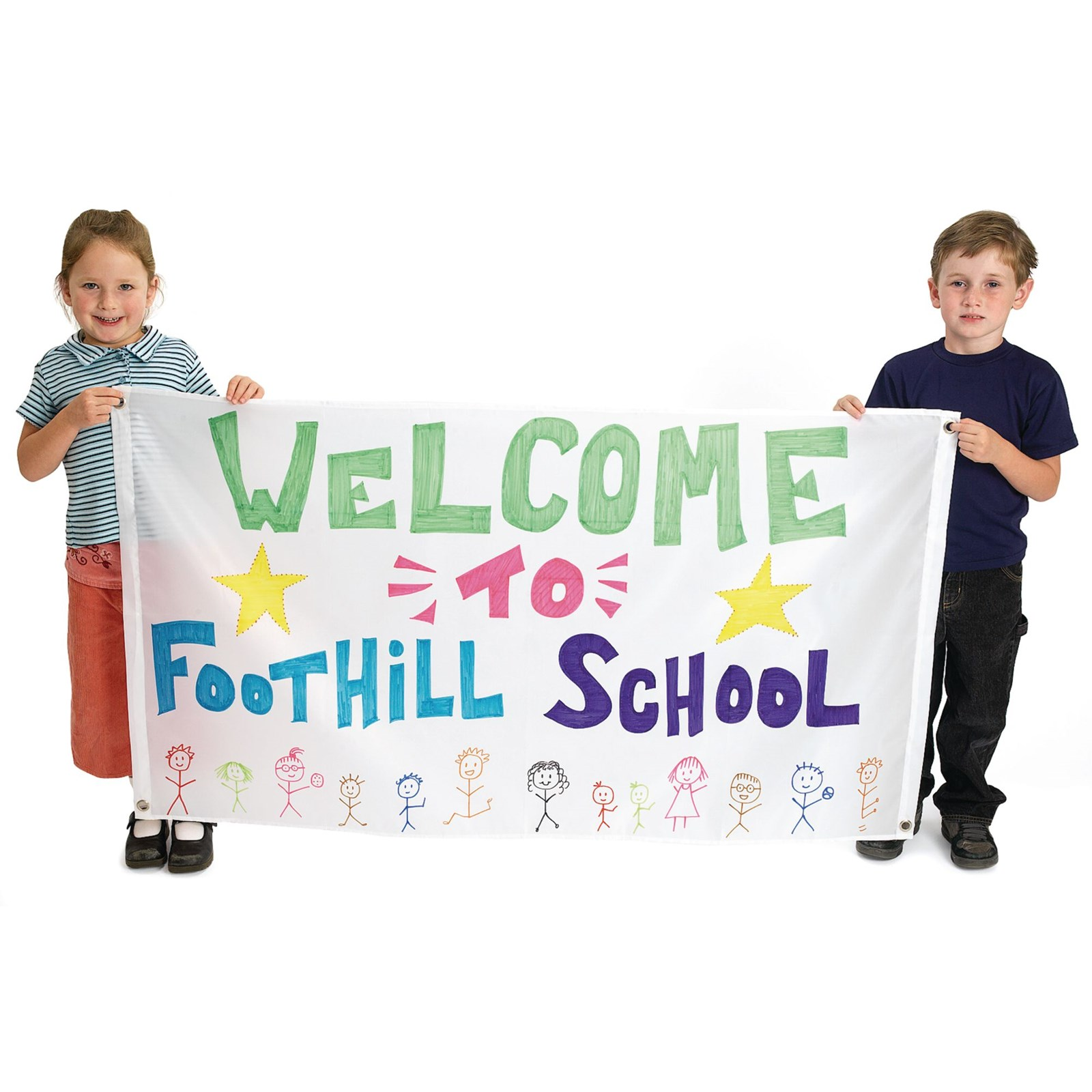 Big Nylon Banners Pack of 2