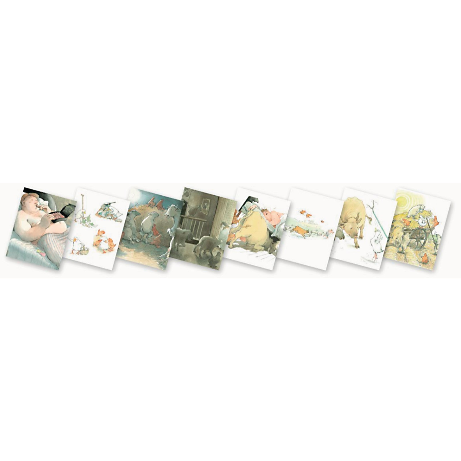 Farmer Duck Story Talk Cards Pack of 8