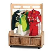 Mobile Unit Dressing Up 3 Baskets