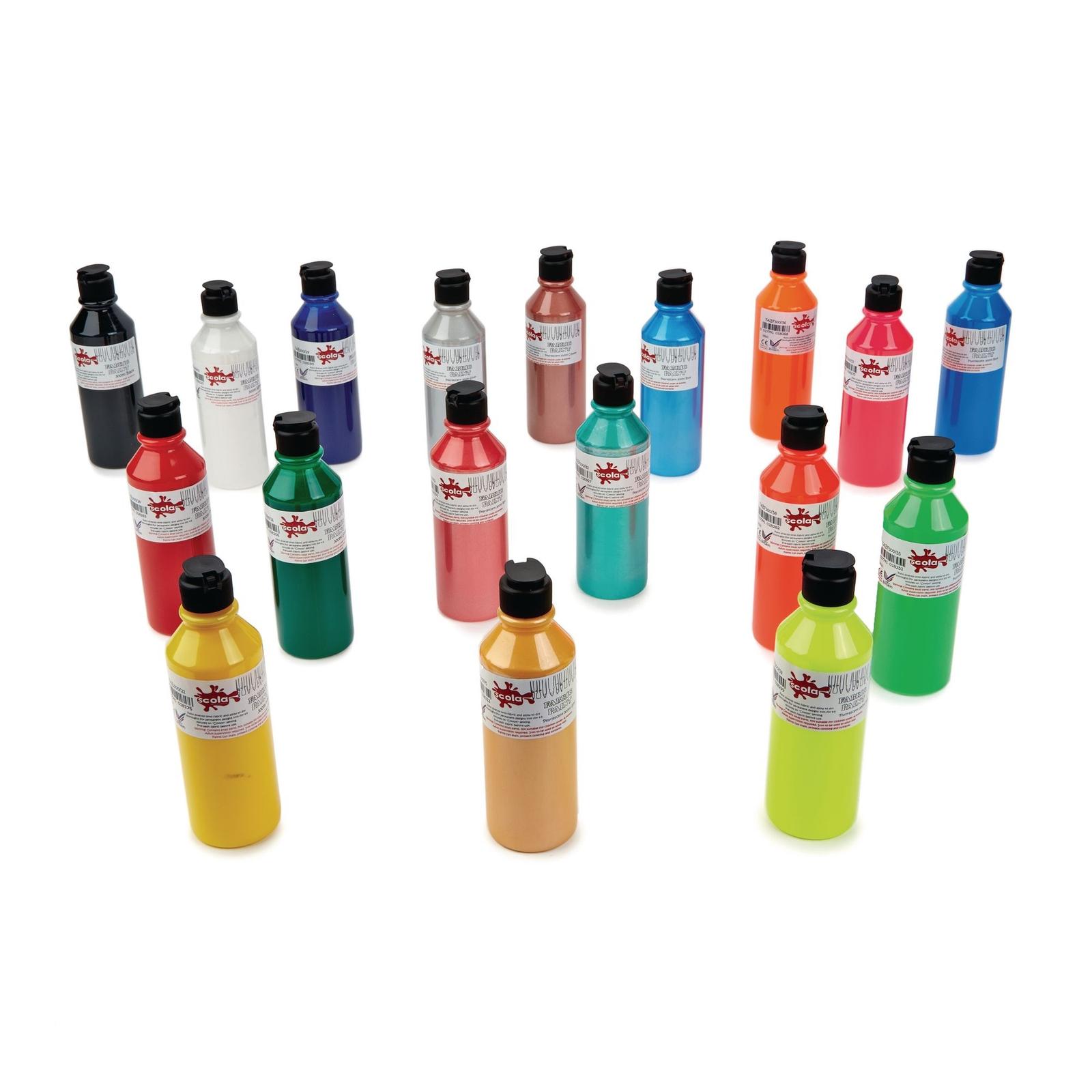 Scola Fabric Paints Standard 300ml P6 - Standard