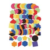Self Adhesive Felt Shapes Pack of 100