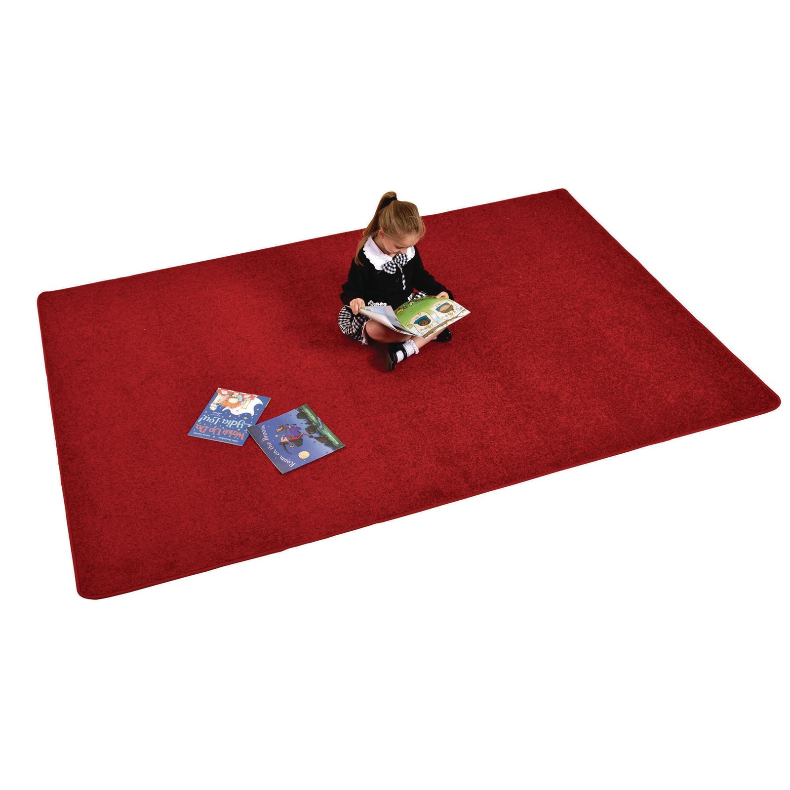Rectangle Rug - Red