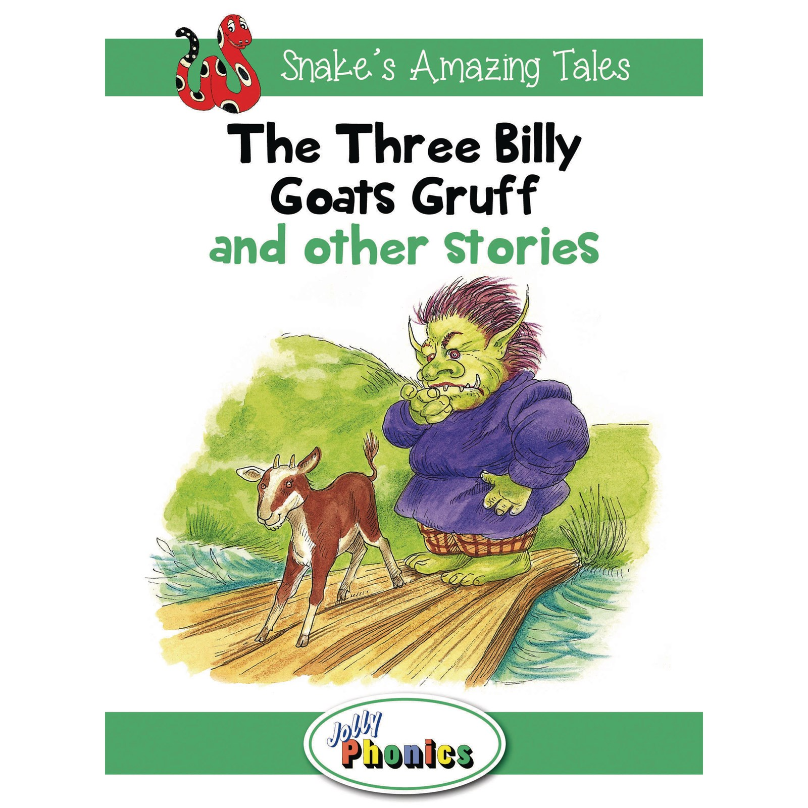 Jolly Phonics Readers Level 3 Snakes Amazing Tales