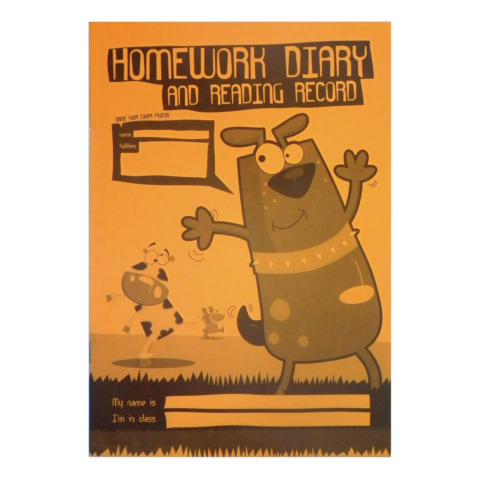 Primary Homework Diary and reading Record Book  - A5