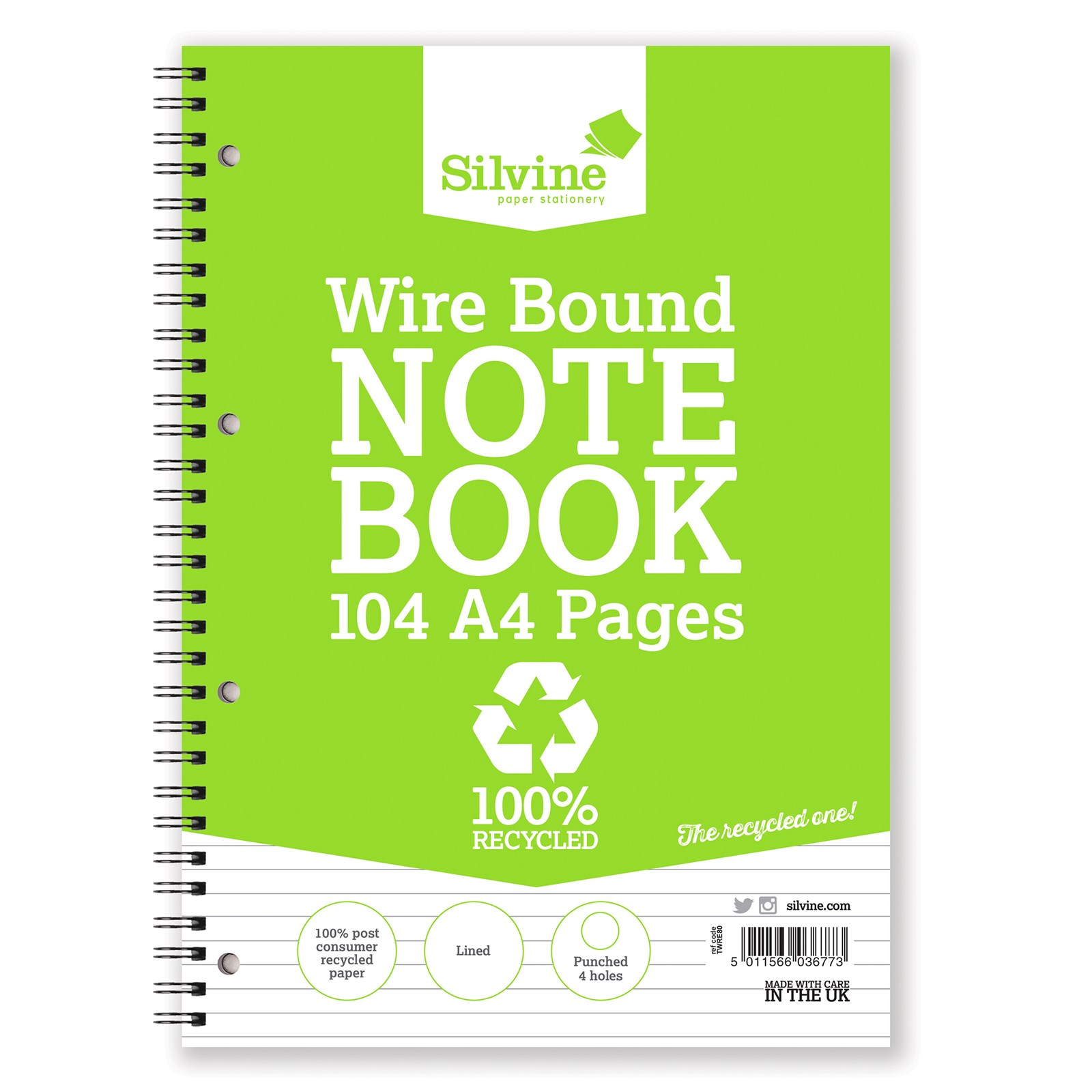 A4 Twin Wired Notebook