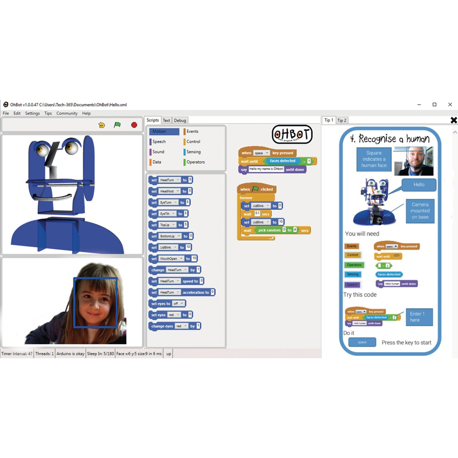 Ohbot2 Software Site Licence - Small School 1-500 Pupils