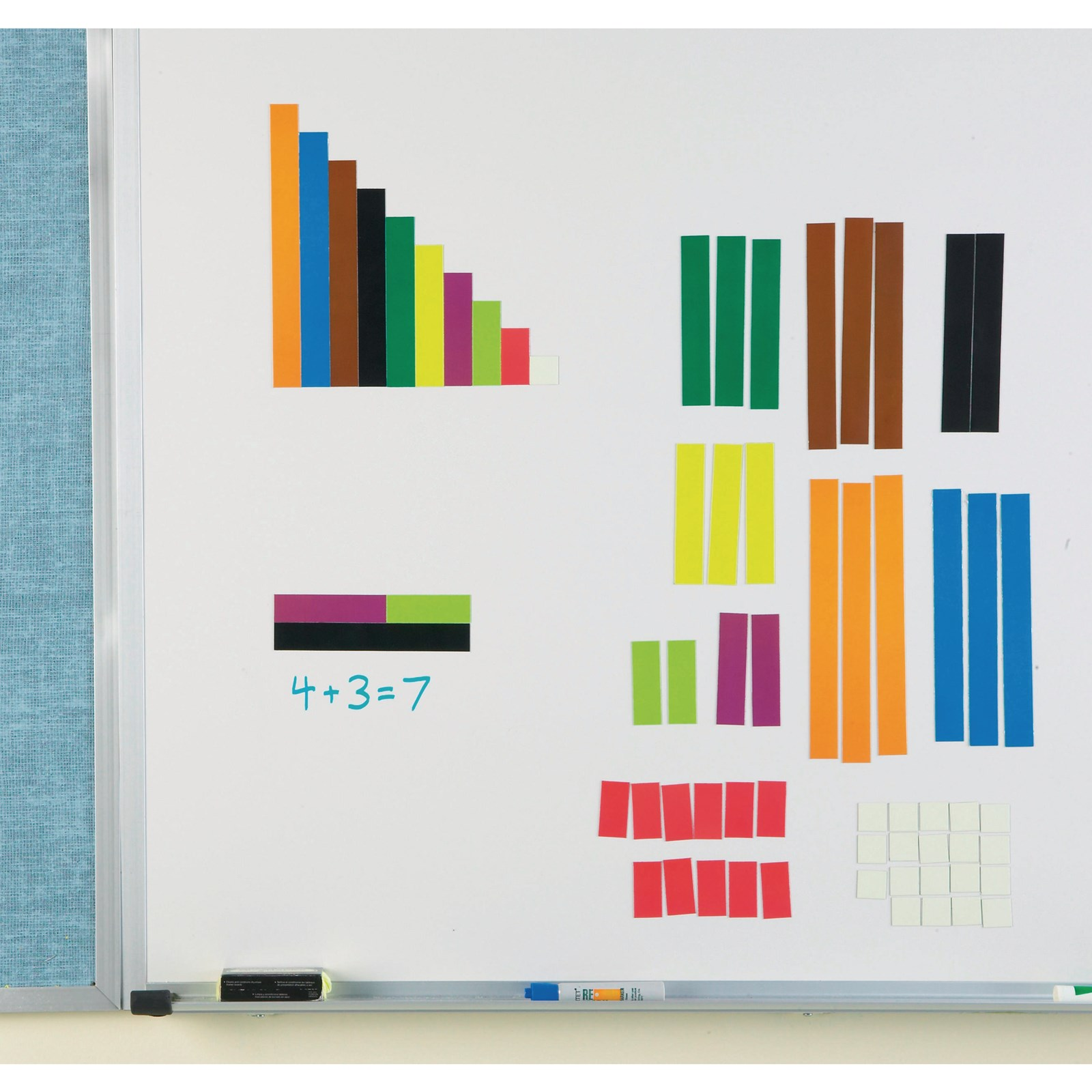Giant Magnetic Cuisenaire