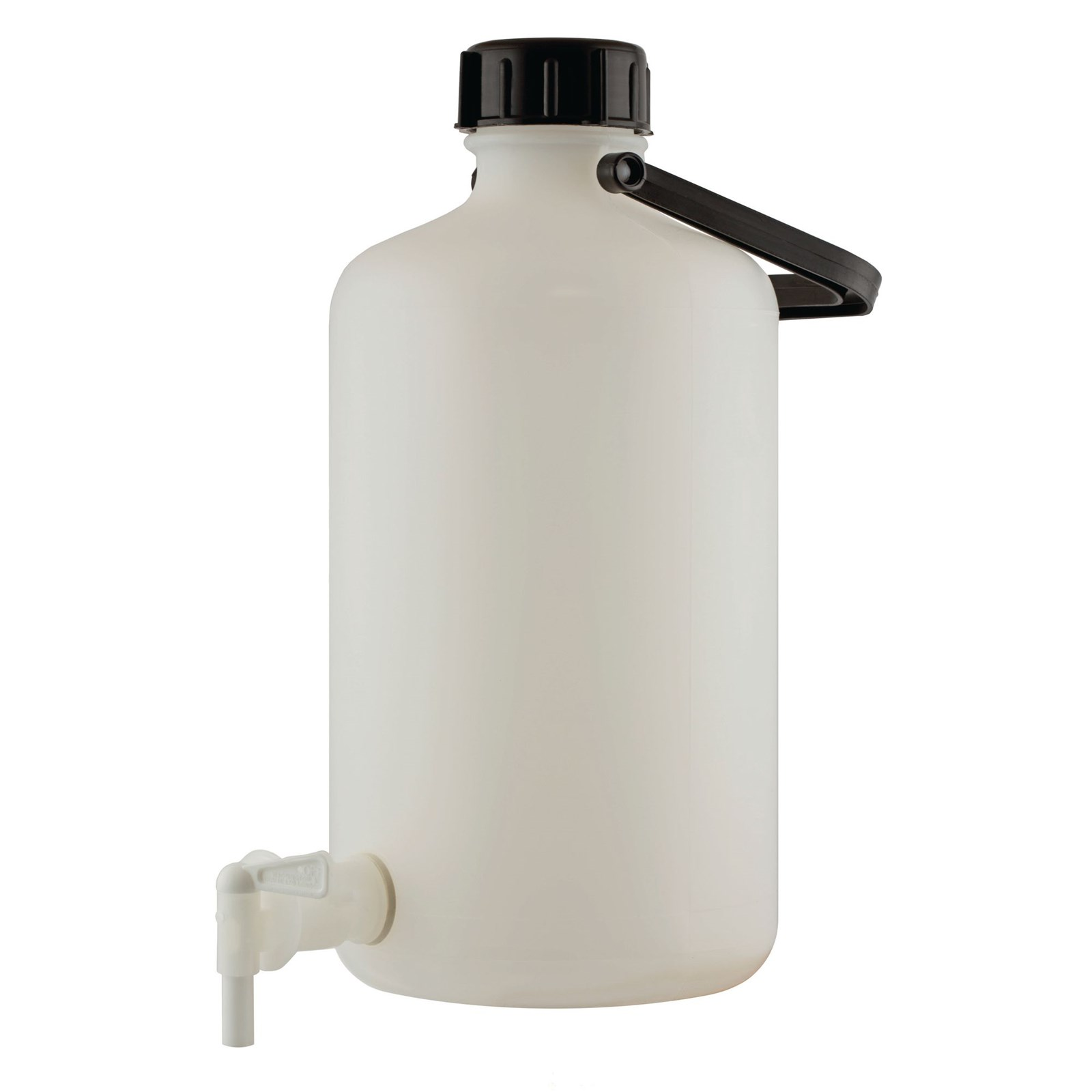 Aspirator with stopcock - 5 Litre
