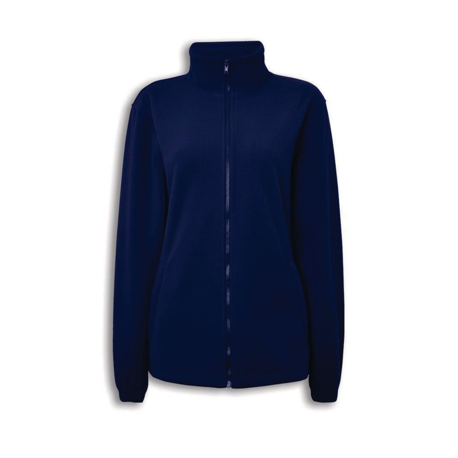 Womens Fleece Jacket - Navy - Medium EA 2cc1e9d868