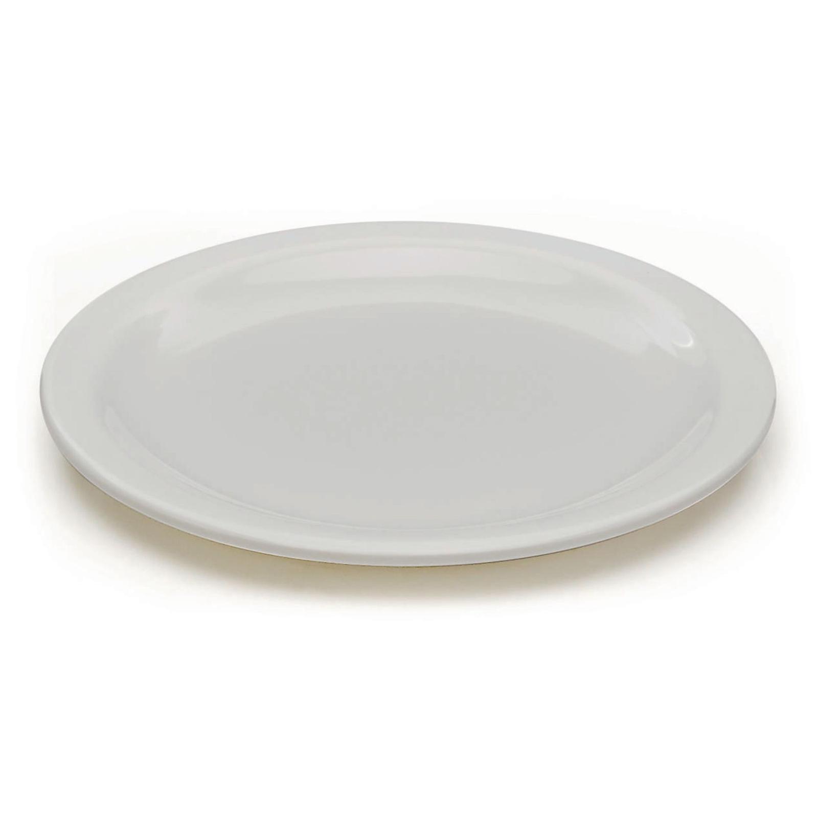 White Melamine Tableware - 165mm Plate