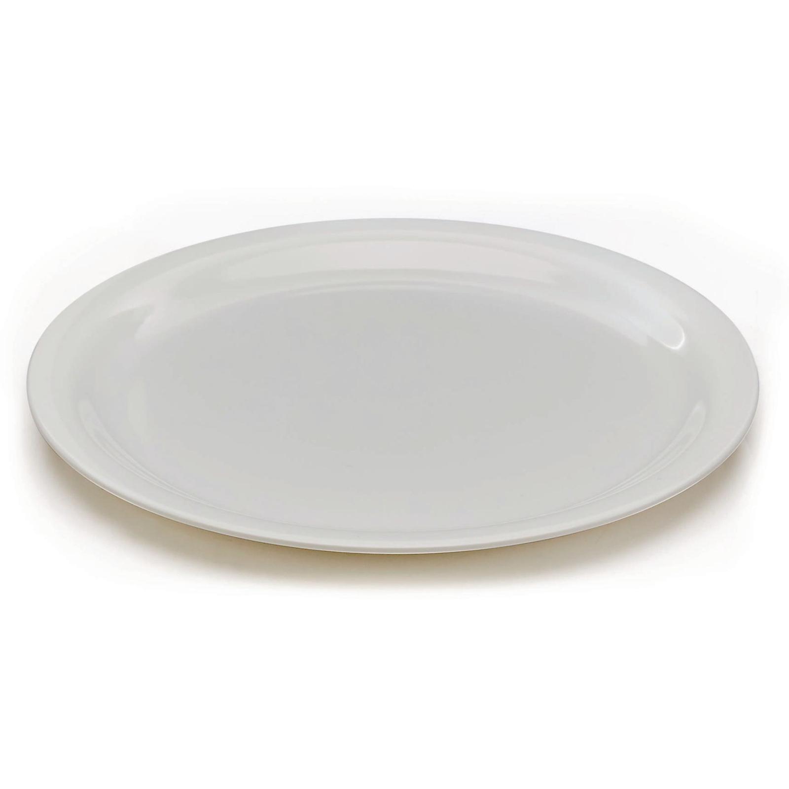 White Melamine Tableware - 230mm Plates
