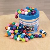 Magnetic Marbles Tub