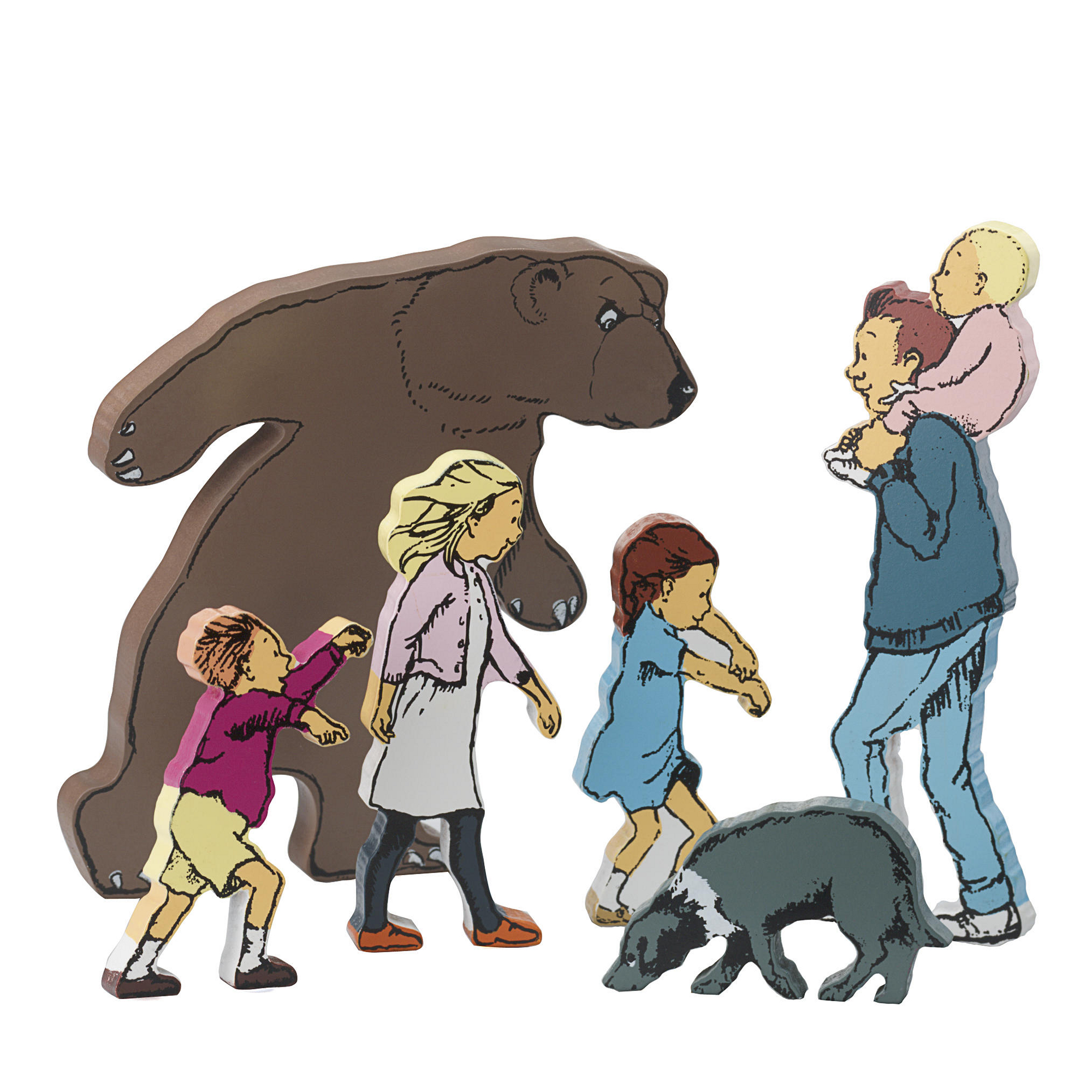 We Re Going On A Bear Hunt Character Set Pack Of 6 Hope