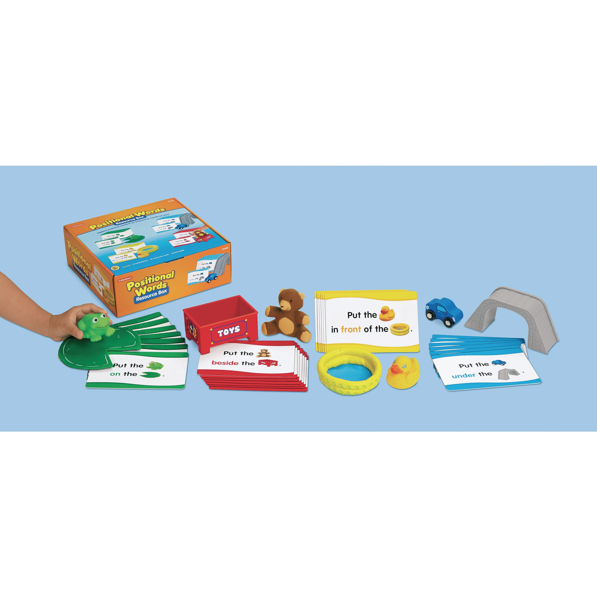 Positional Language Word Cards - australia, word cards, words