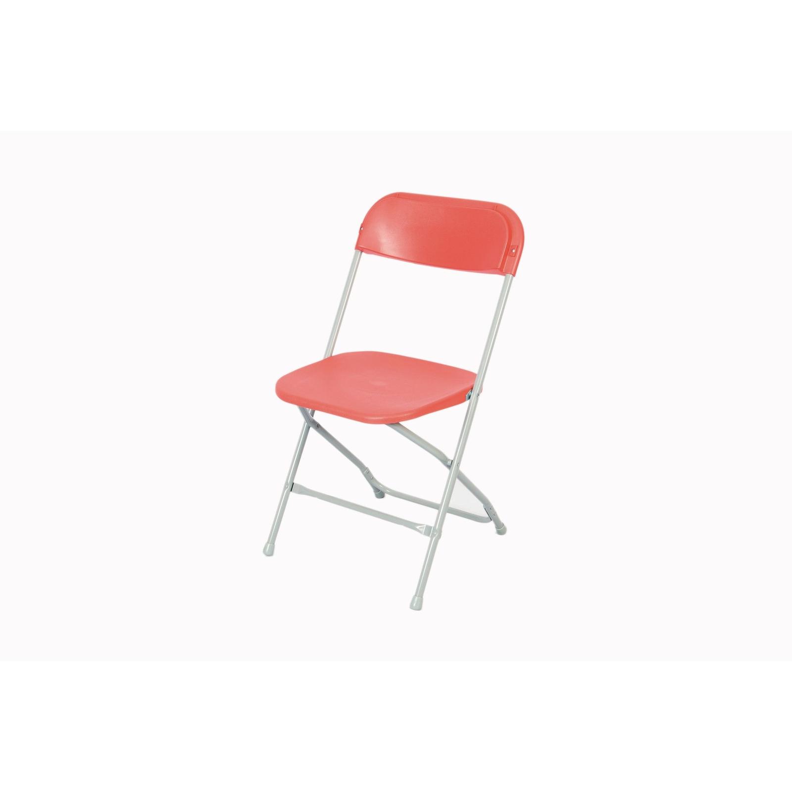Straight Back Folding Chair Burg
