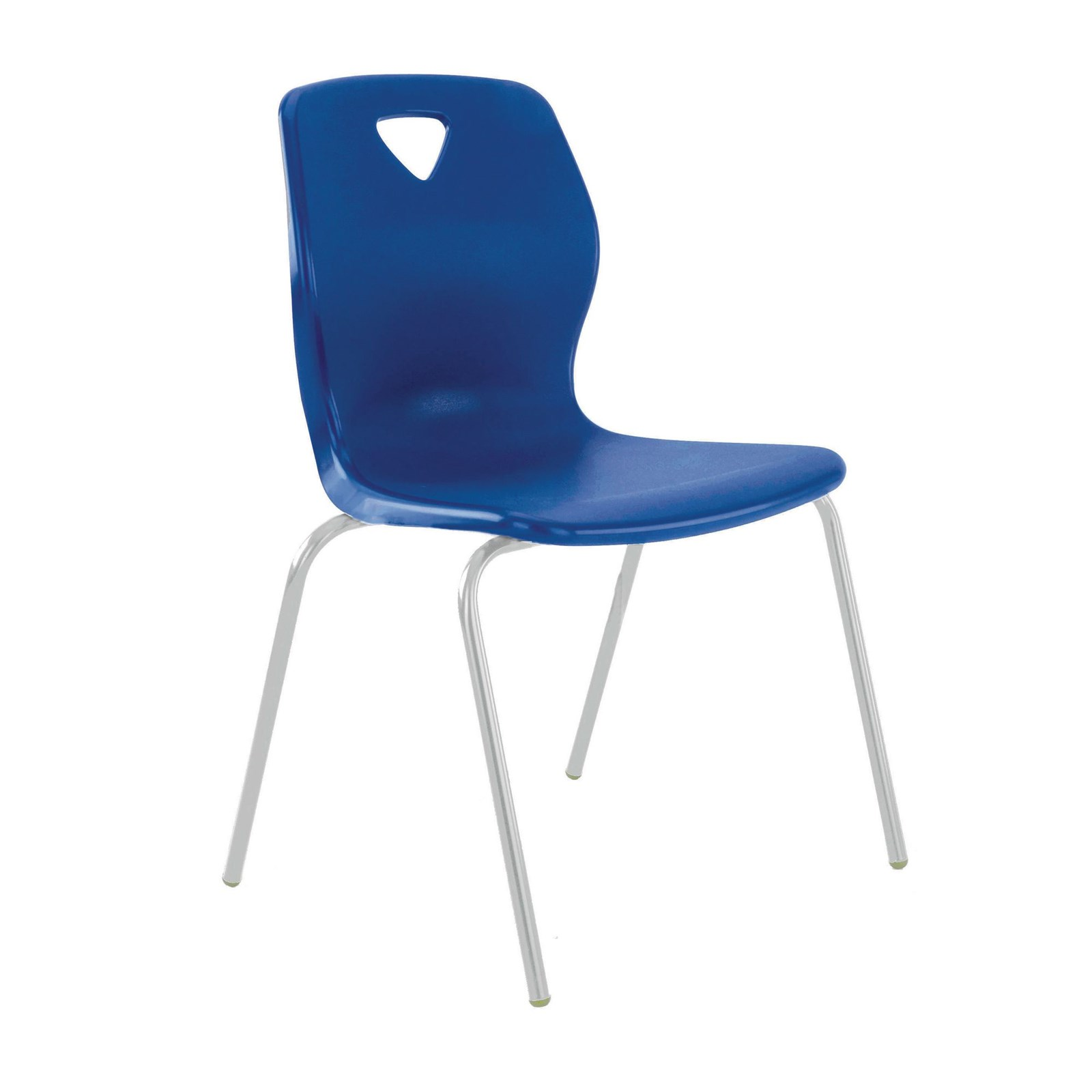 P7 Chair 380mm Gry Frm Lime