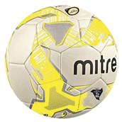 Mitre Jnr Lite 320 - White/Yellow, Size 5