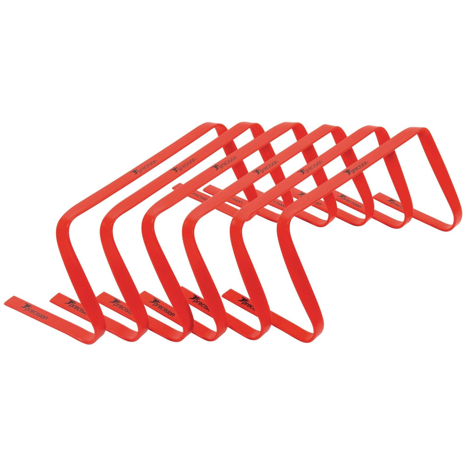 Precision Flat Hurdles - 9in - Red