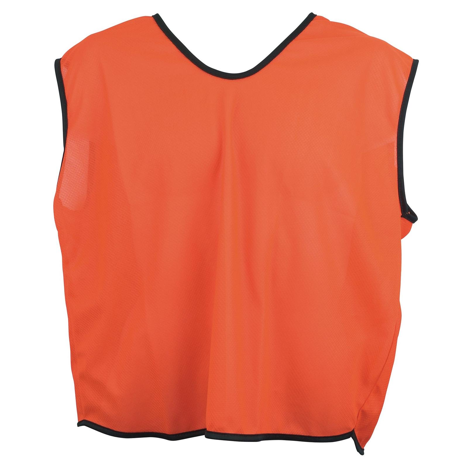 Plain Mesh Training Bib  26-28 Inches Age 6-11 Years - Orange