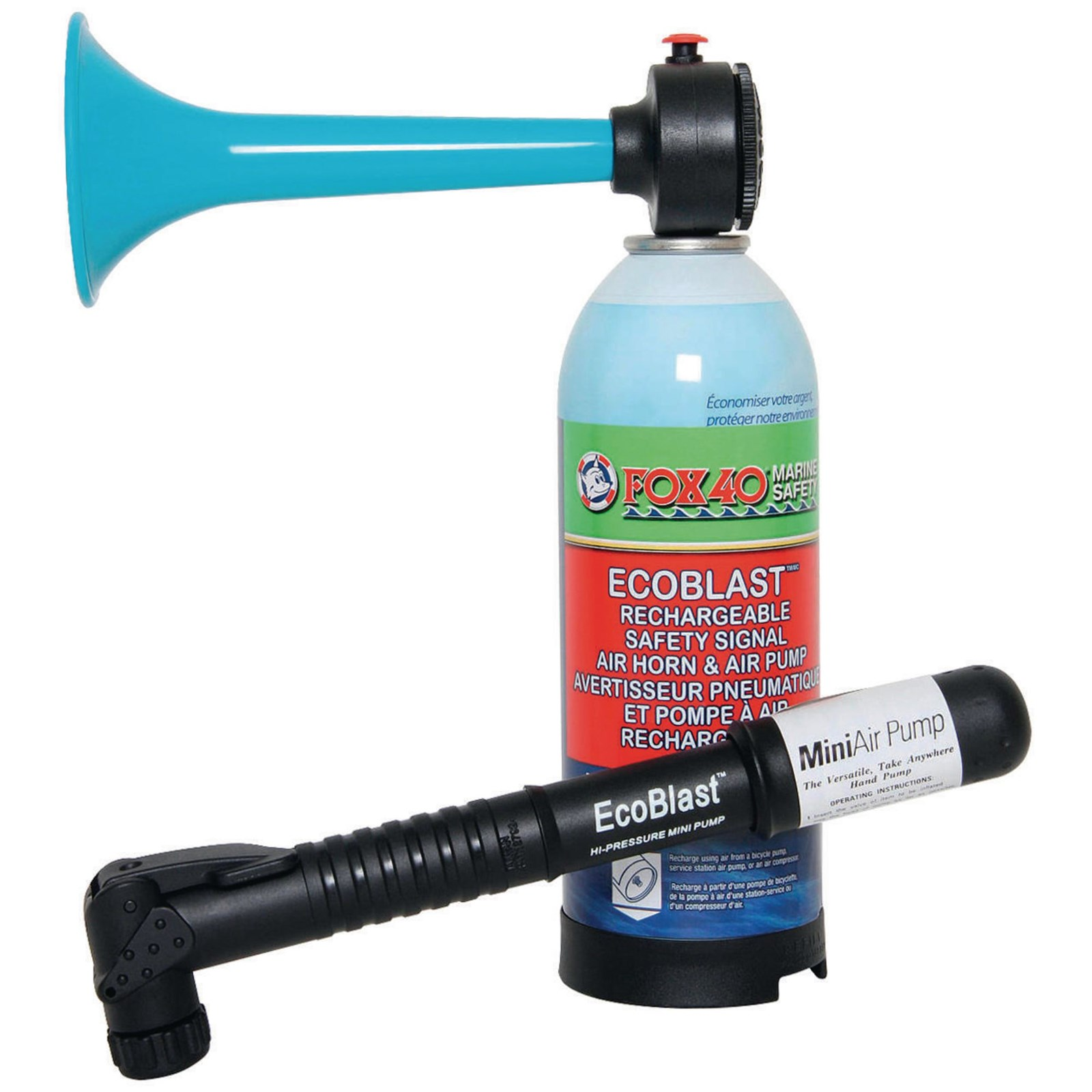 Fox 40® EcoBlast Air Horn and Pump