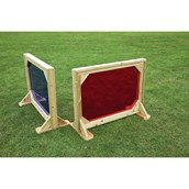 Coloured Space Dividers Pack of 2