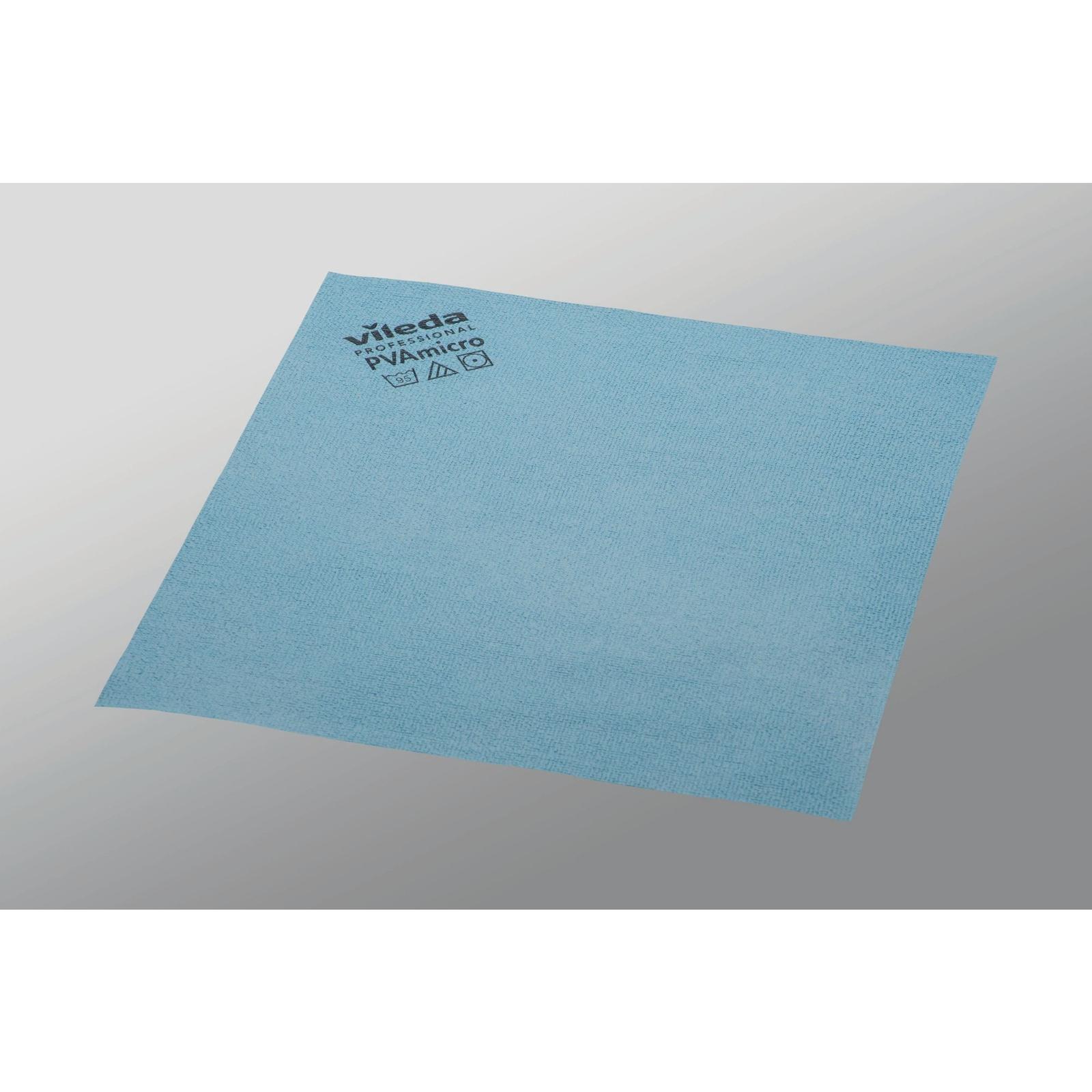 Vileda Professional Glass Cloth.Vileda Pvamicro Cloth Blue Gls Educational Supplies