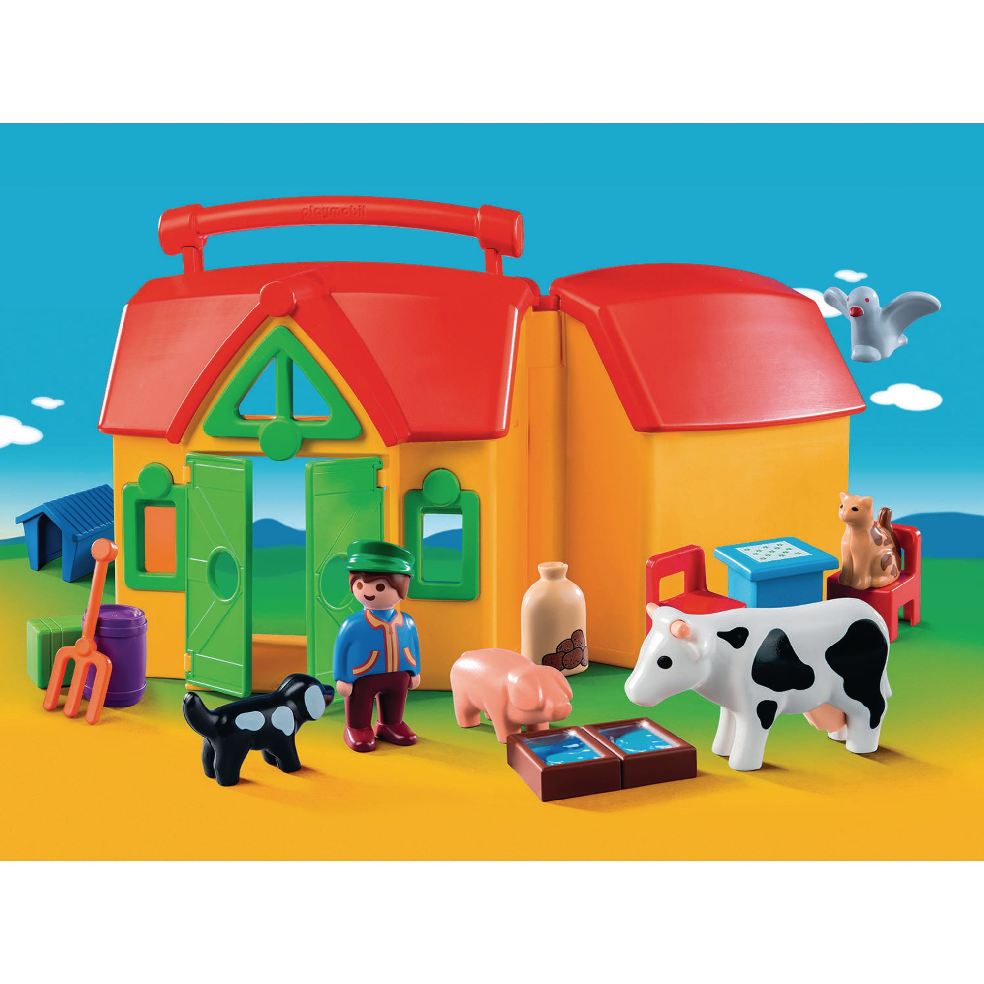 Playmobil my take along farm hope education for Playmobil dining room 5335
