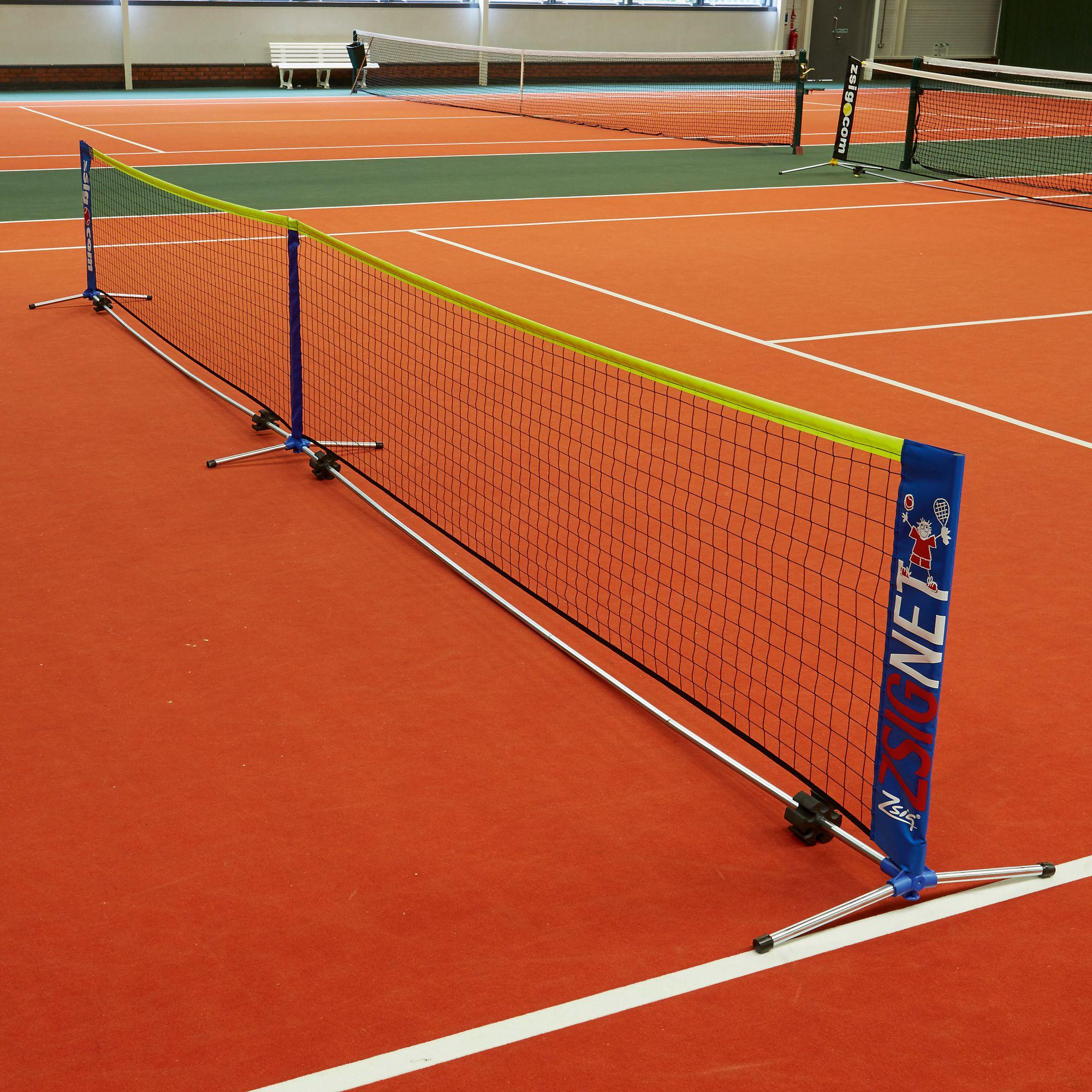 Zsignet Mini 3m Amp 6m Modular Tennis Net Davies Sports