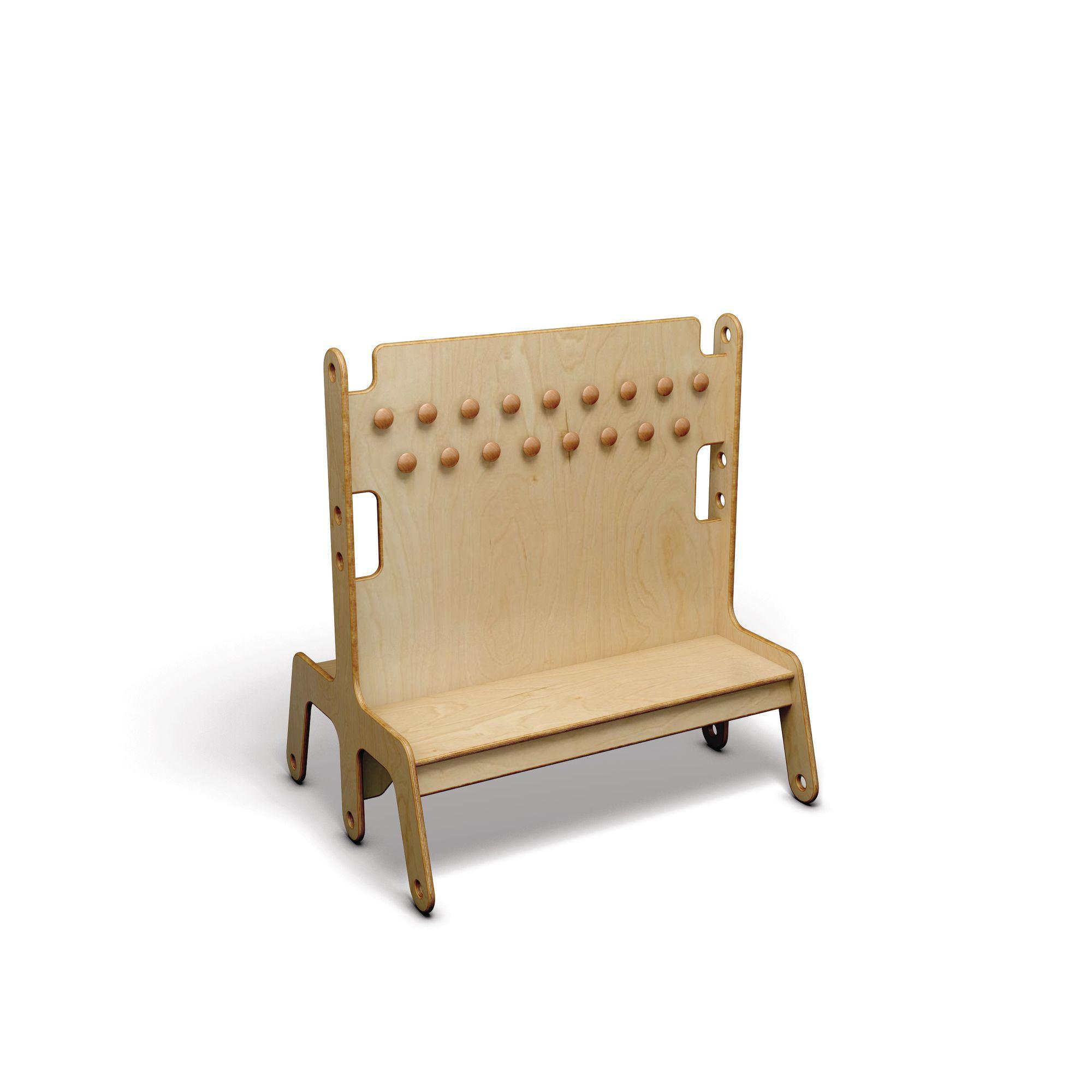 Fantastic Trudy Nursery Low Level Cloak Unit Double 34 Hooks Uwap Interior Chair Design Uwaporg