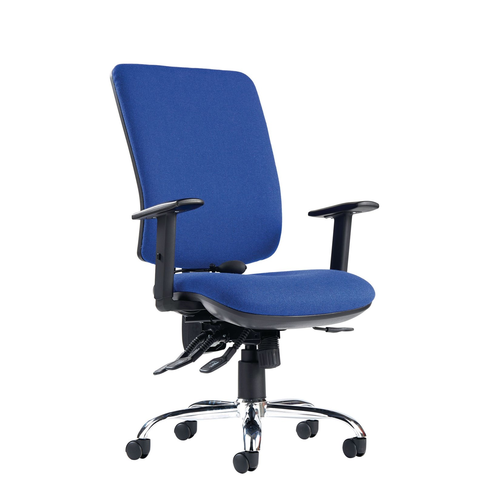 Senzaergo Chair Asynchro Adjst Arm Brgdy