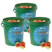 Slazenger Mini Orange Stage Tennis Balls - Pack of 180