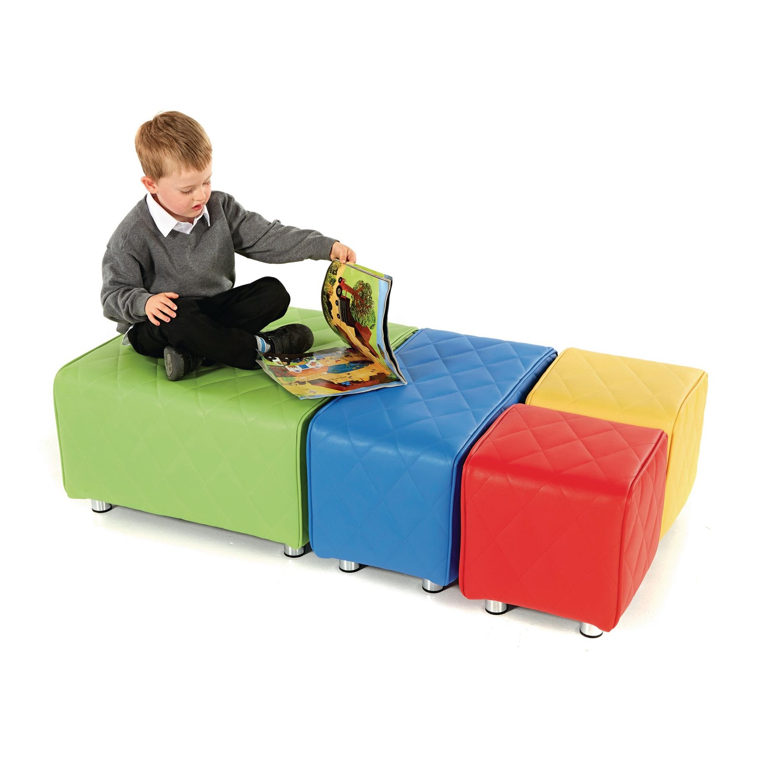 Junior Breakout Seat Rectangle Blue
