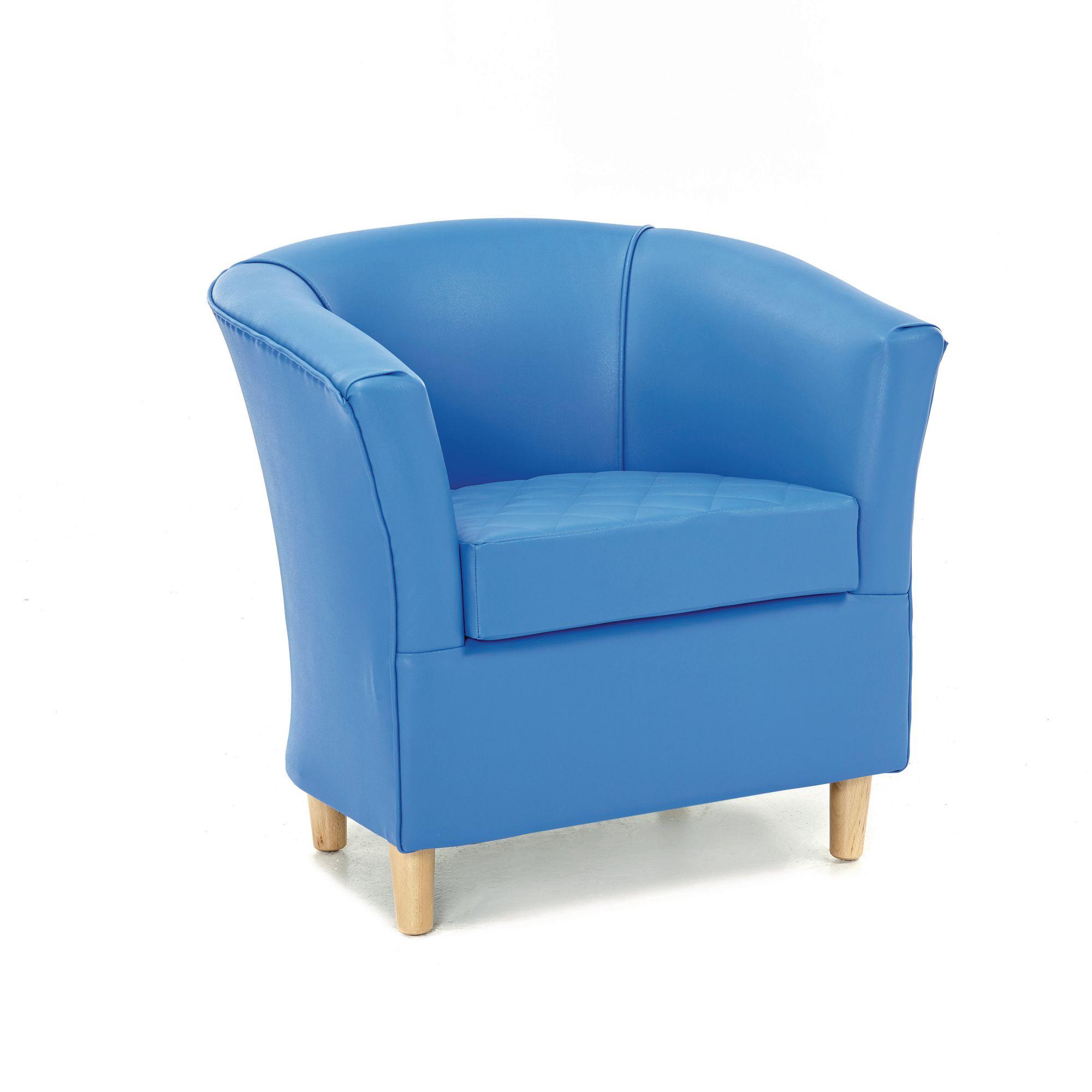 Adult Tub Chair Blue