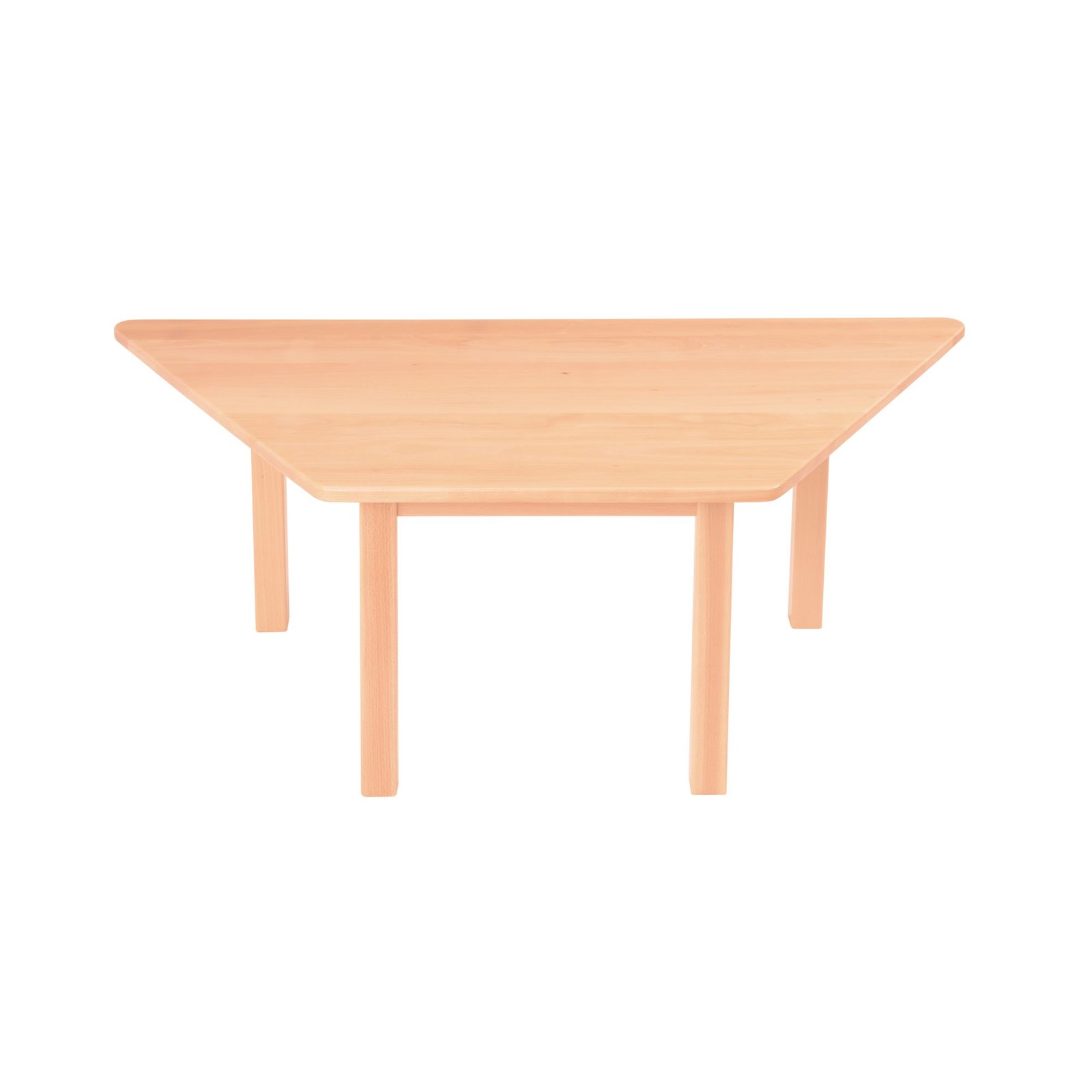 Galt Trapezoidal Table W1200xd600x530mm
