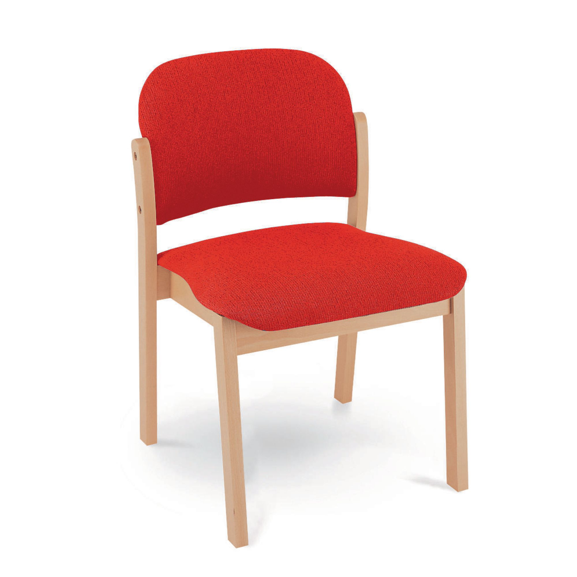 Merveilleux Upholstered Chair Red