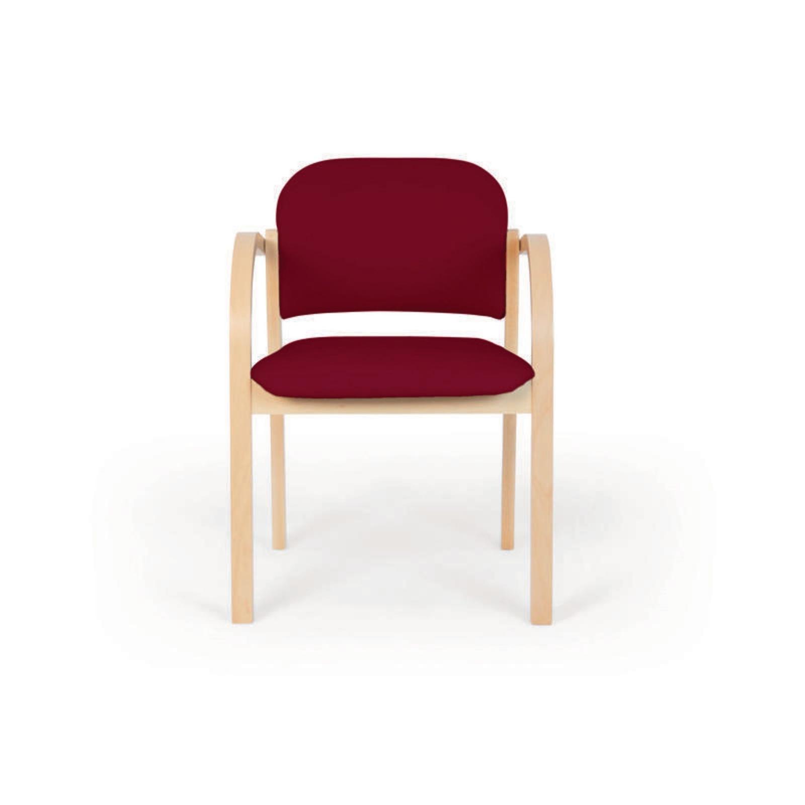 Upholstered Armchair Black