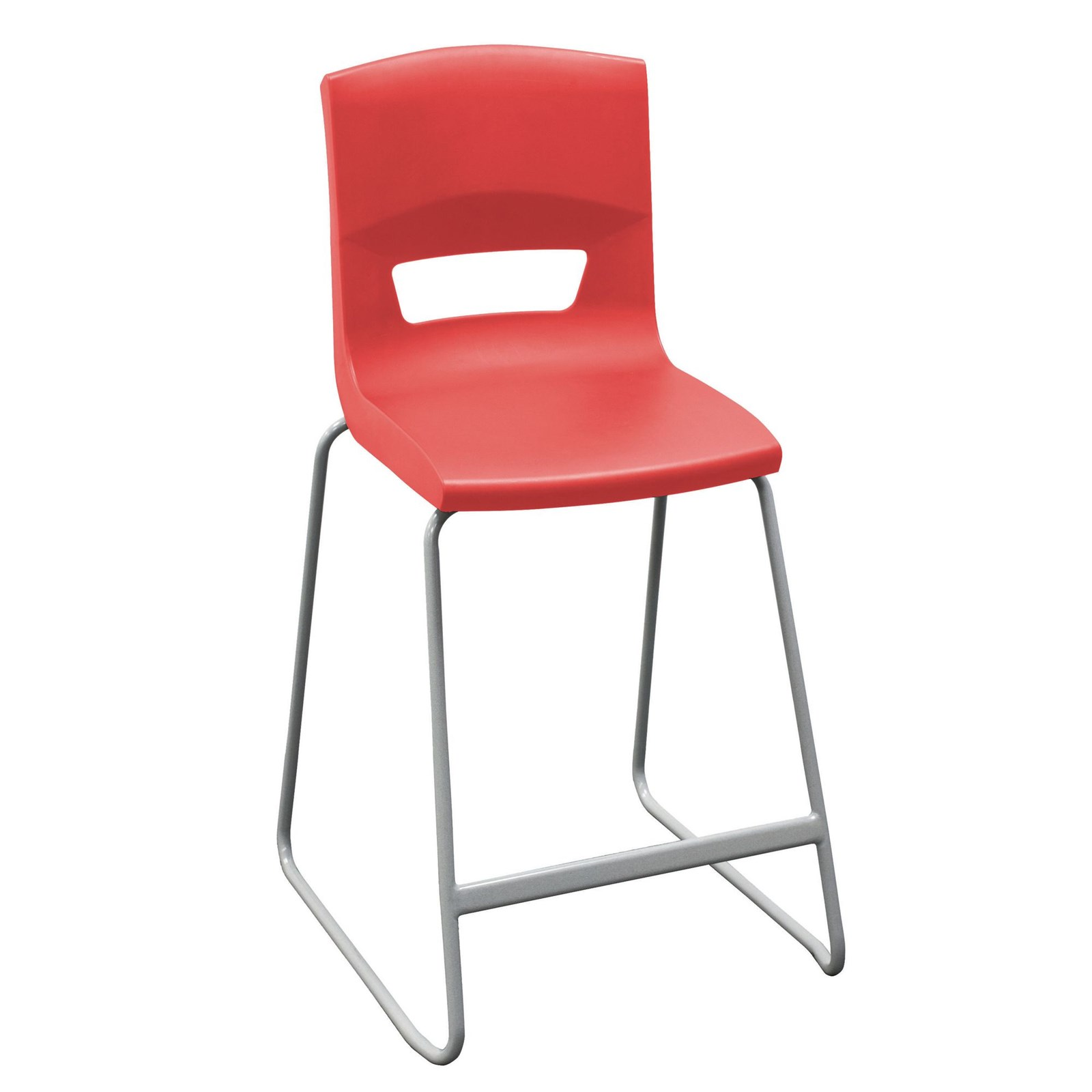 Postura High Chair 560mm Red