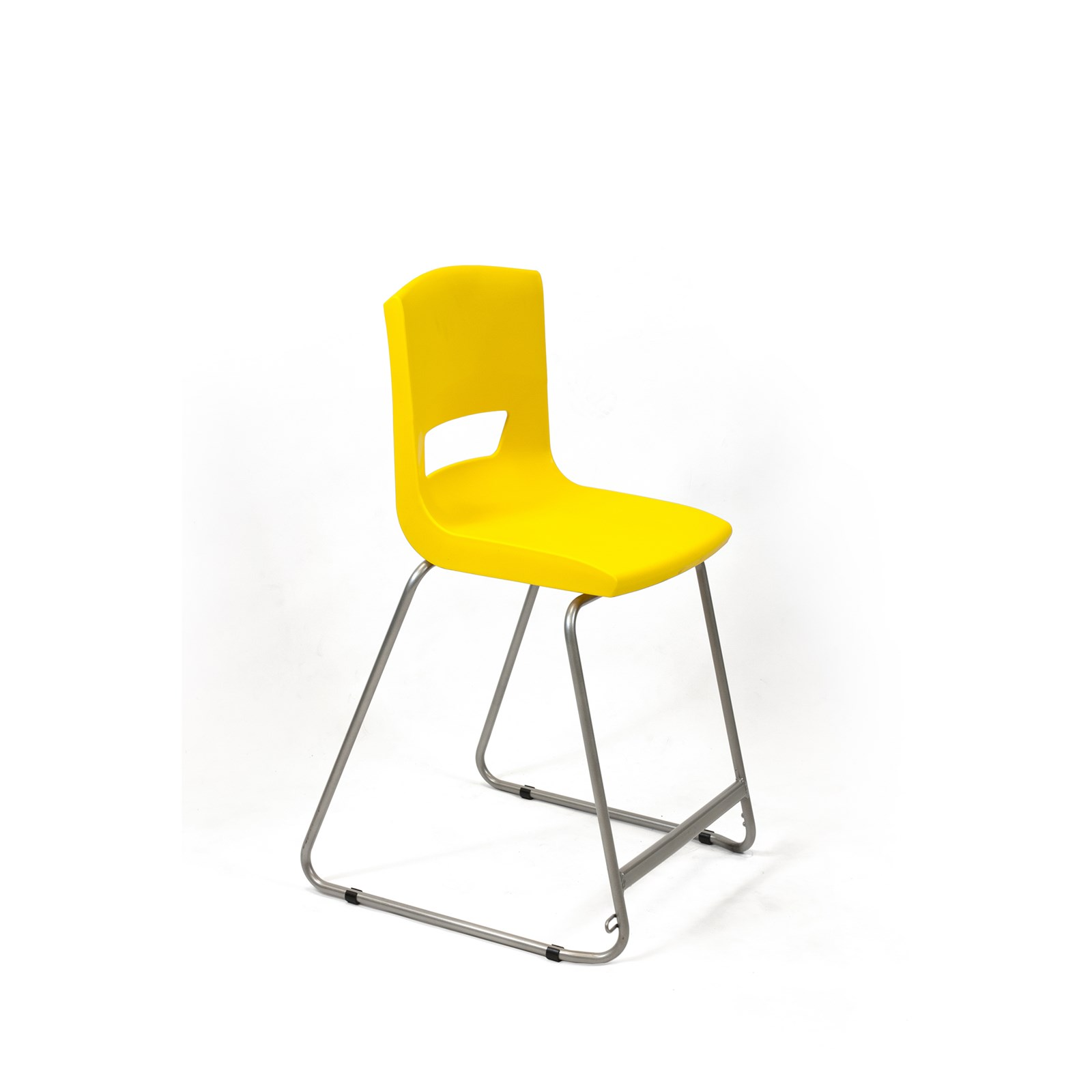 Postura High Chair 560mm Yellow