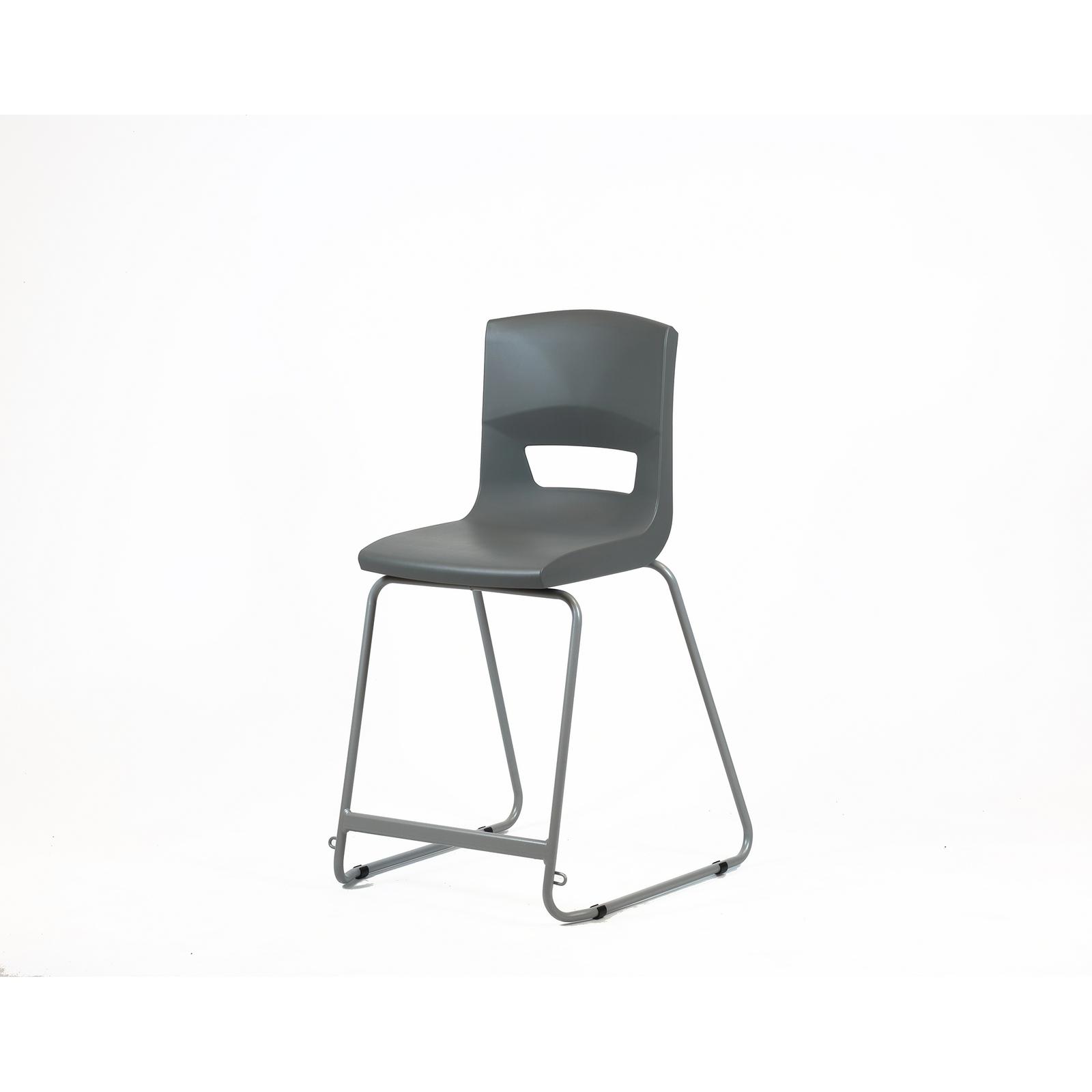 Postura High Chair 560mm Slate