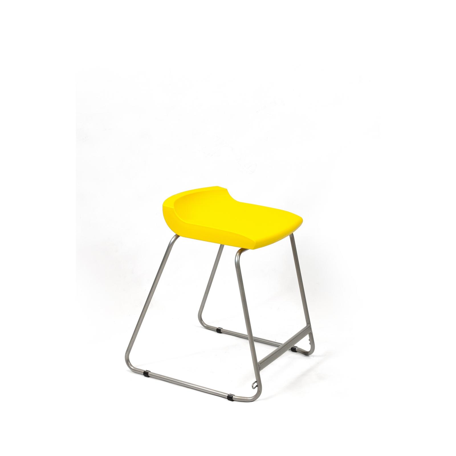 Postura Stool 560mm Yellow