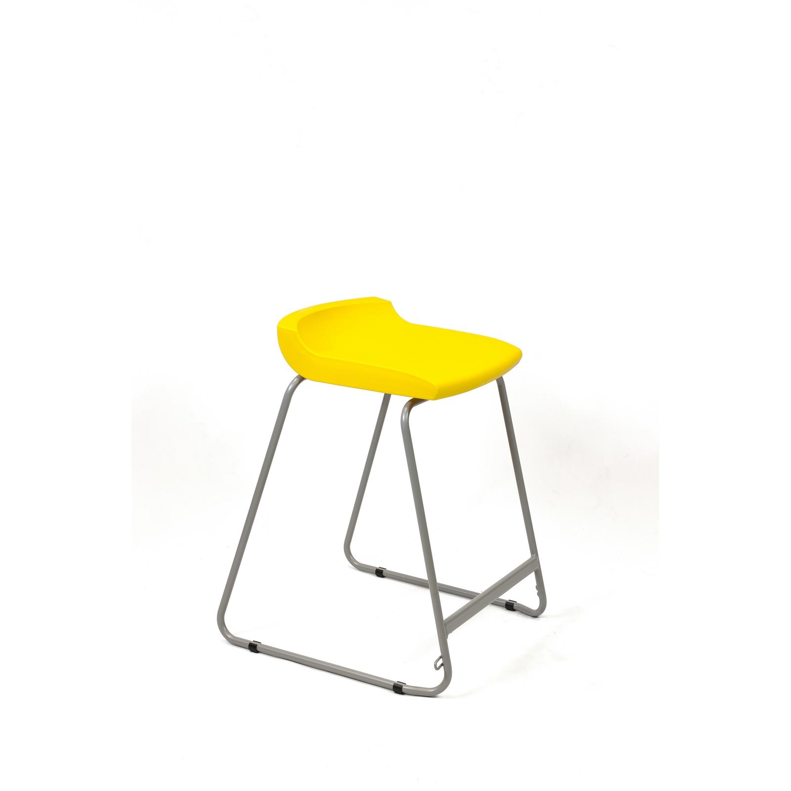 Postura Stool 610mm Yellow