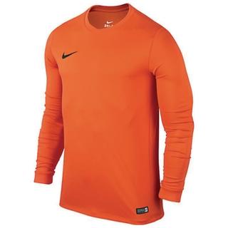 c9000d26 Nike Park Long Sleeve Football Shirt Orange 29-32in | Findel ...
