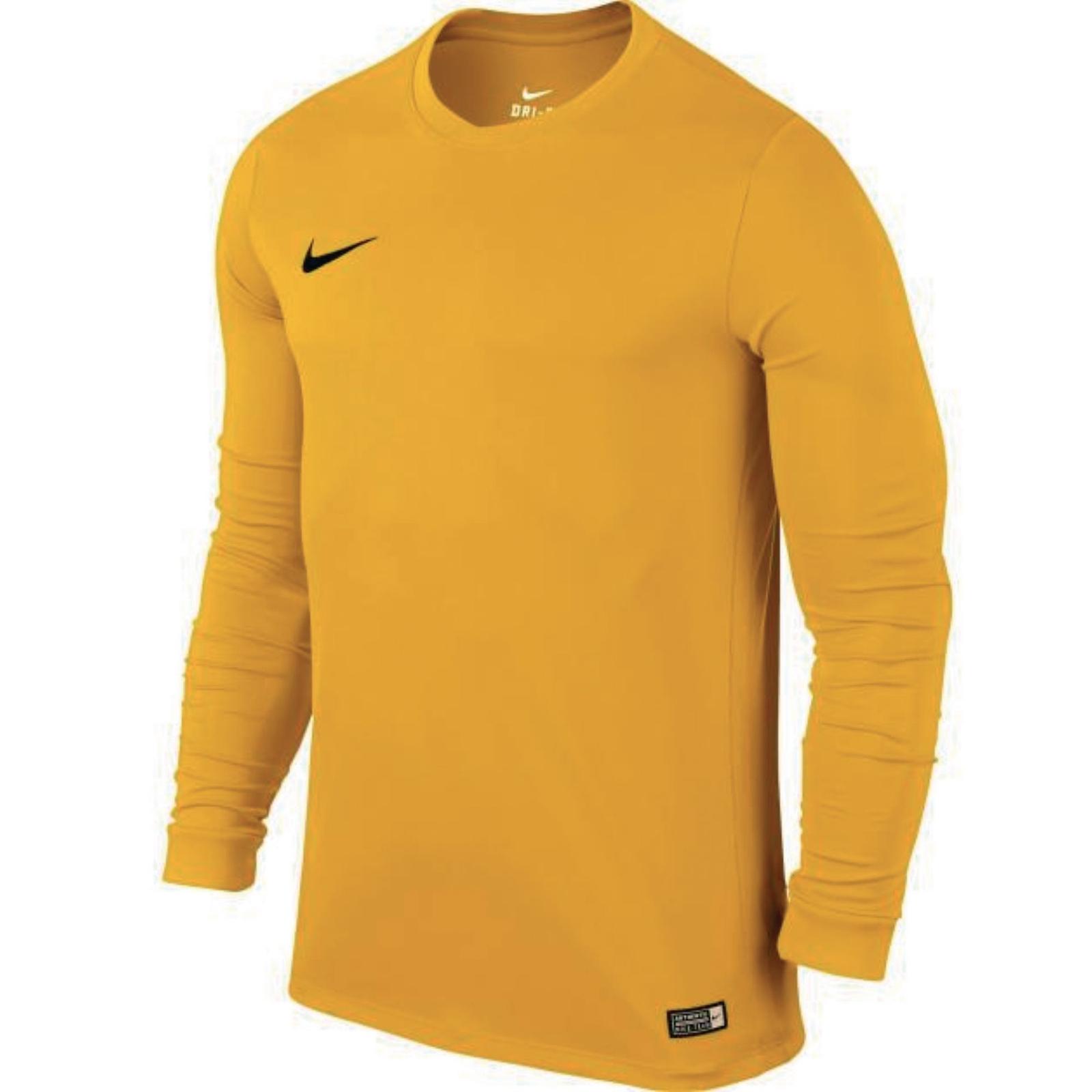 Nike Park Long Sleeve Football Shirt University Gold 32-35  1d551c3db