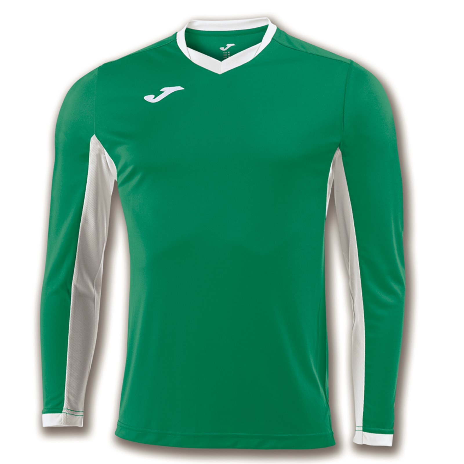8ed710c0fc51 Joma Champion Long Sleeve Football Shirt Green   Black 43.5-45in ...