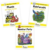 Jolly Phonics Readers Collection Level 2 Pack of 3