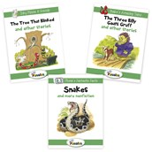 Jolly Phonics Readers Collection Level 3 Pack of 3